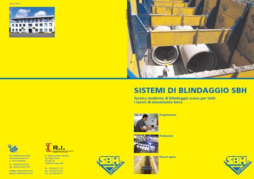 Box di blindaggio scavo, catalogo completo SBH