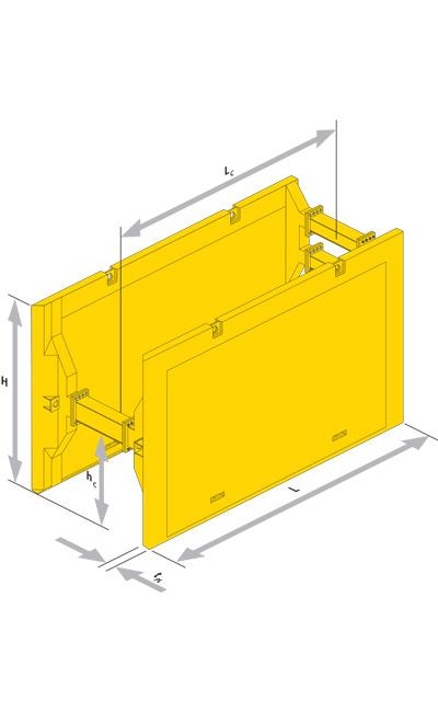 box a traino serie 650